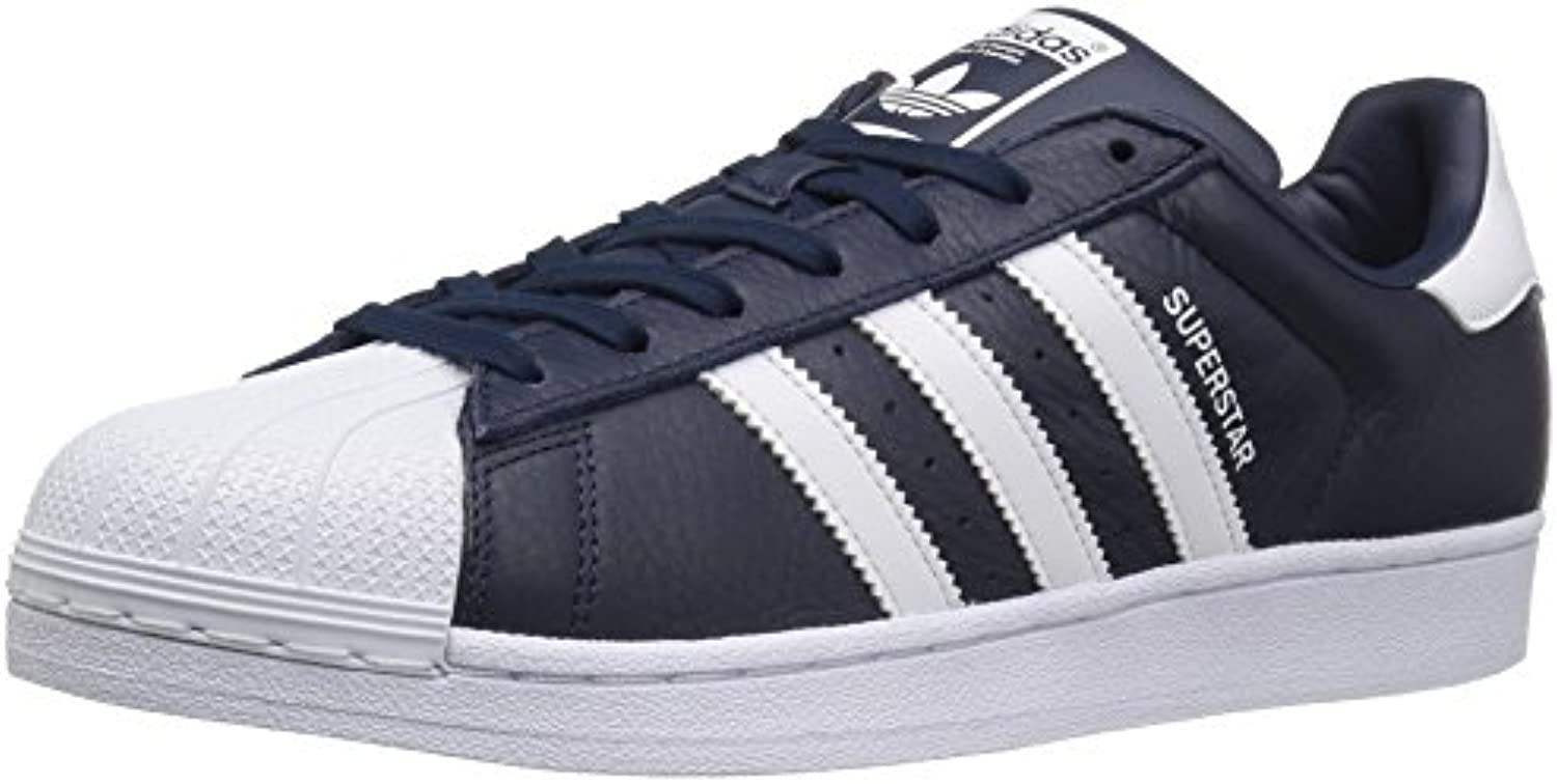 adidas originaux des chaussures superstar d'hommes  superstar chaussures fashion baskets, collegiate marine / Blanc  / c oll egi ate ma rine (7,5 m) b01hnbicrq parent 7c4654
