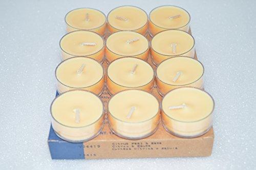 Zitronen-salbei-kerze (PartyLite Teelichter