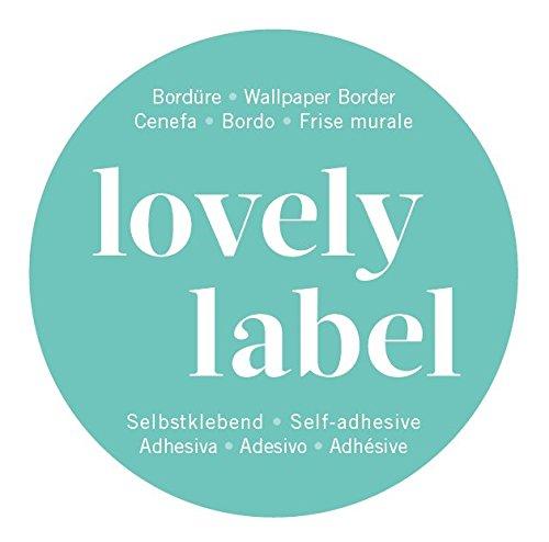 lovely label Bordüre selbstklebend ELEFANTEN GRAU/BLAU – Wandbordüre  Kinderzimmer / Babyzimmer mit Elefanten in versch. Farben – Wandtattoo ...