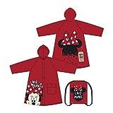 Minnie Maus Regenjacke Poncho Kinderponcho Kinderregenjacke Regenmantel Kinderjacke WD9764 (4 Jahre)