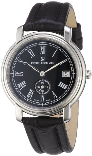 Revue Thommen Men's Automatic Watch 17071.4134 with Leather Strap