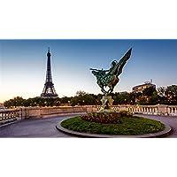 Puzzle Reborn Statue France Paris Eiffel Tour Puzzle Para Adulto Regalo De 1000 Piezas Para Mujer