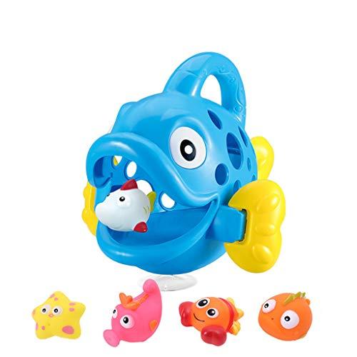 Webla Wasserspray Spielzeug: Fisch essen, Bad, Spielzeug, Bad, Dusche, Dusche, Wassersprühgerät, 20x21x23cm - Machen Carbon Filter