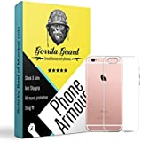 Gorilla Guard™s Clear Soft TPU Case Protector Cover For Apple IPhone 6 Made Of Soft Silicon Gel With Shock Absorbtion Bumper Fitting, Light Weight, Scratch Proof & Slim Fit Case Cover