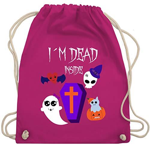 Halloween - I'm dead inside - Unisize - Fuchsia - WM110 - Turnbeutel & Gym Bag