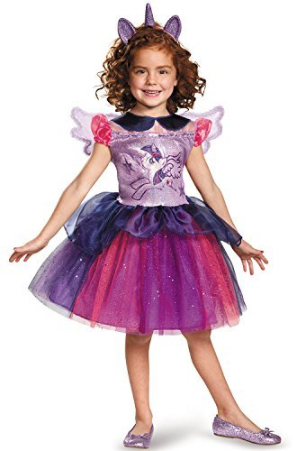 Disguise Twilight Sparkle Tutu Deluxe My Little Pony Costume, Medium/7-8 by Disguise (Little Pony-tutu My)