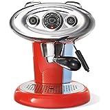 illycaffè X7.1 Iperpresso - Máquina de café en cápsulas, color rojo