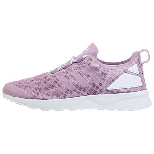 adidas ZX Flux ADV Verve, Baskets Basses Femme, 40 EU Violet (Blanch Purple/Blanch Purple/Core White)