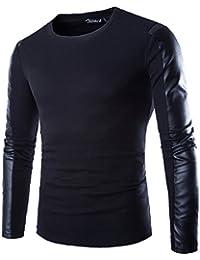 Zicac - T shirt Homme Manches longues noir