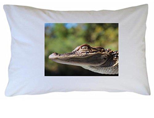 Alligator Kissen Fall (einer) Bild # 1 (Fall Alligator)