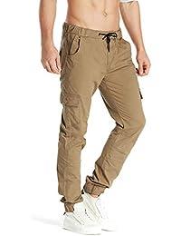 55099382734a8e MODCHOK Herren Hosen Freizeithose Cargo Hosen Jogginghose Chino Hosen  Sweatpants Regular Fit
