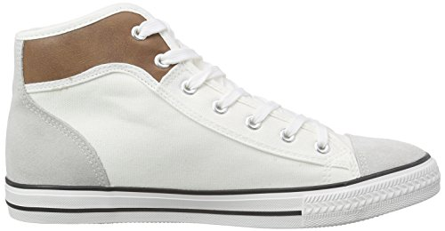Nebulus Nevada, Sneakers Hautes Homme Blanc (white)