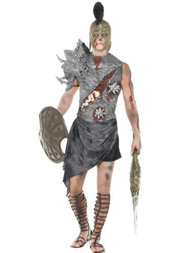 Mens Zombie Gladiator Spartacus Kostüm Medium (37-40
