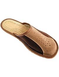 SNUGRUGS - Zapatillas de estar por casa para mujer marrón canela, color marrón, talla 42.5