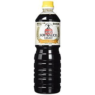 Daisho  Sojasauce, hell (Usukuchi) PET - Flasche,  natürlich gebraut , 2er Pack (2 x 1 l)