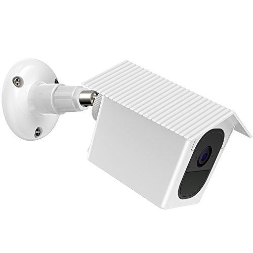 Holaca Kamera Wandhalterung, Wetterfest, 360 Grad Verstellbar Innen und Außenbereich Halterung Schutz Hülle für Arlo Pro und Arlo Pro 2 -