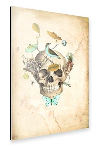 artboxONE Alu-Print 90x60 cm Return to Earth von Künstler Mulberry Muse