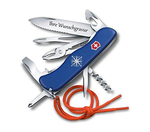 TR Victorinox Skipper Seglermesser mit persönlicher Gravur auf der Klinge