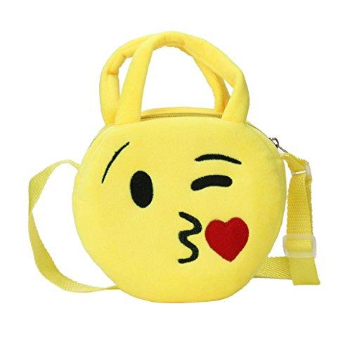 Imagen de bolso  para mujer sannysis mujeres emoticon bolso de hombro impresión emoji 06