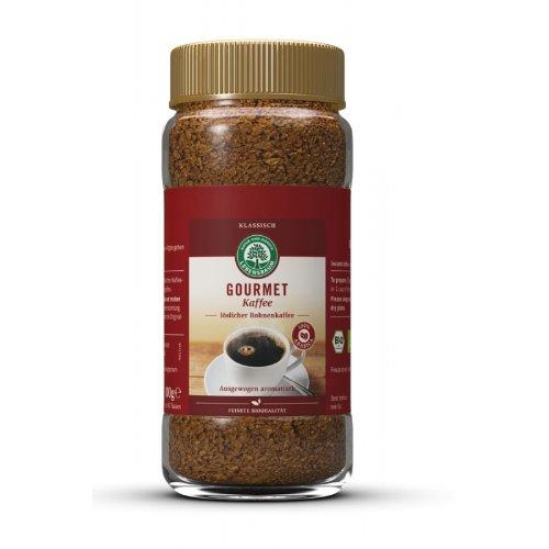 Lebensbaum - Bio Gourmet Kaffee löslicher Bohnenkaffee - 100g