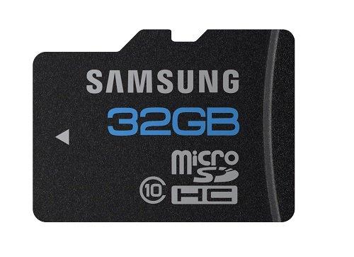 Foto Samsung Micro SD HC 32GB scheda di memoria classe 10 con adattatore SD