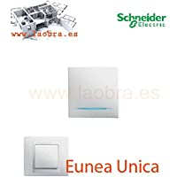 Tecla interruptor i luminoso blanco