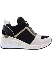57cc0f0c01d MICHAEL KORS Georgie Trainer Suede 43R9GEFS1S LT CRM Multi Zapatos Mujer  Sneaker