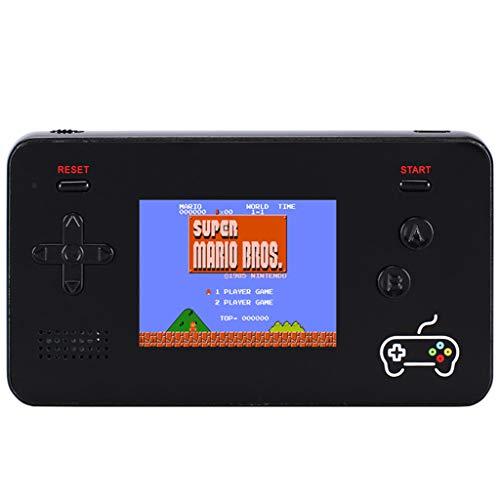 Gamepad für Schießspielhilfe, Tragbare Controller Joysticks ,Sensitive Schießen Retro-Handspielkonsole 5000mAh Power Bank 188 Classic FC Games 2.5 'Bildschirm Power Mobile Plug