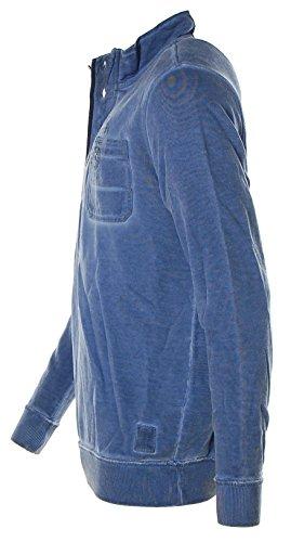 Kitaro -  Felpa  - Collo mao  - Maniche lunghe  - Uomo Jeans