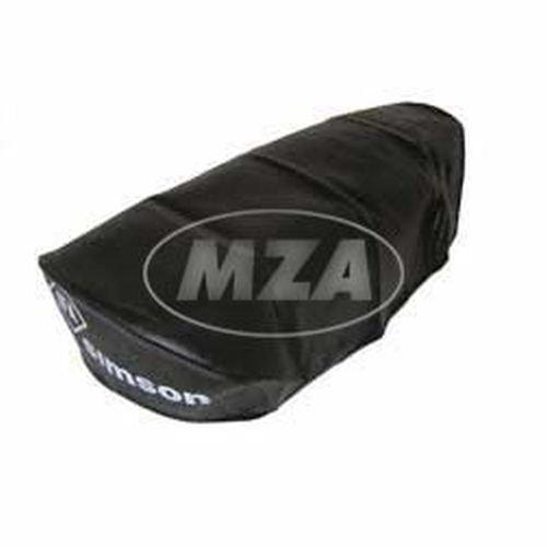 MZA Meyer-Zweiradtechnik 10210.0 Sitzbezug, Glatt für KR51/1, SR4-2 - für Kurze Sitzbank, Schwarz (Sitzbank 1 Eine)