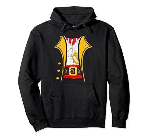 Kostüm Black Pirate Coat - King of Pirates Captain Funny DIY Halloween Costume Pullover Hoodie