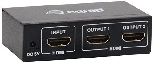 Equip HDMI-Splitter 2-Port Video Signalverteiler 2-port Hdmi Video