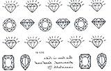 SPESTYLE wasserdicht ungiftig temporäre Tätowierung stickersLATEST neues Produkt neue Version wasserdicht und modische schwarze Diamant-Schmuck Tattoos Aufkleber