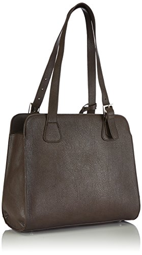 Tamaris MICAELA Shopping Bag 1310142-319 Damen Shopper 34x30x15 cm (B x H x T) Braun (tobacco 319)