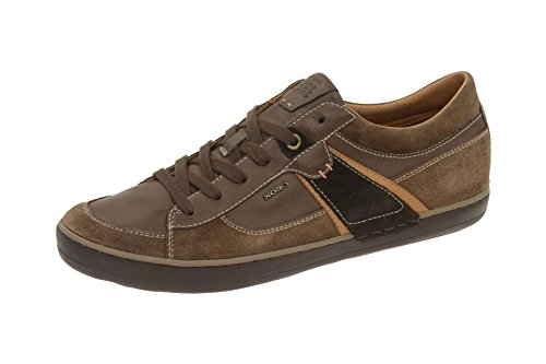 Geox U44R3C 022ME Sneakers Uomo Marrone 45