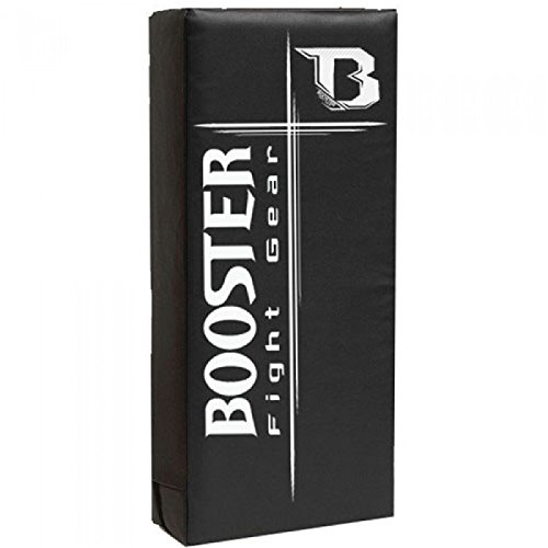 Booster Low Kick Pratze, CKS, schwarz, Schlagschild, Thai Pad, Kicking Shield -
