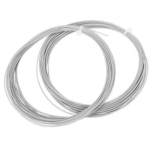 VGEBY1 2 Piezas de Cuerda de bádminton