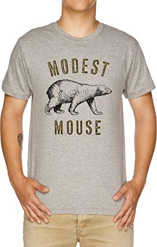 Modest Mouse T-shirt (Modest Mouse Bear Herren T-Shirt Grau)