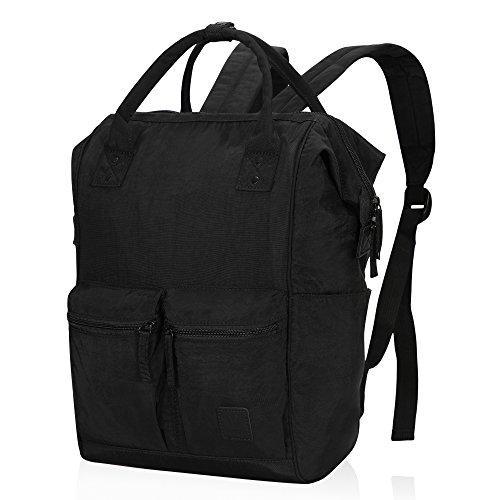 Veegul Mochila Escolar Doctor Stylish Daypacks Bolsa de Viaje para Hombres  Mujeres Negro 1 ef66c97896