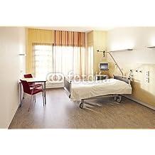 Hospital de la cama de las habitaciones (61581050), lona, 140 x 90