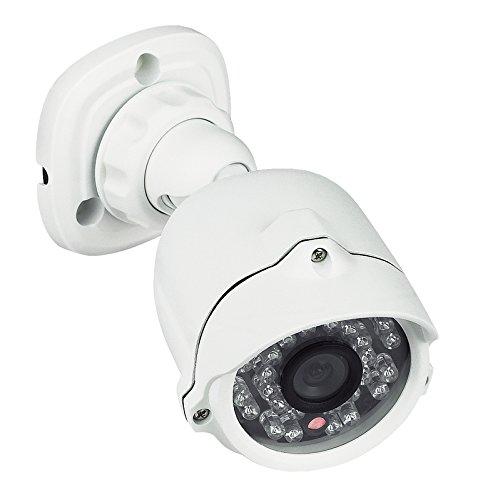 Immagine di BTicino 391438 Telecamera Videosorveglianza, IP66, Compatta, LED Infrarossi, Compatibile con Kit Videocitofoni, Bianco