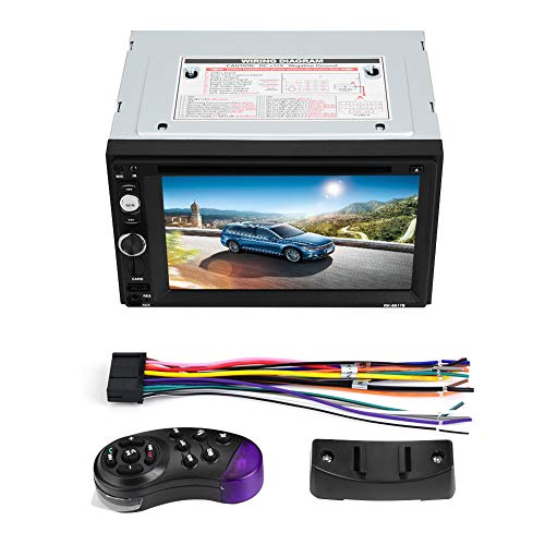 Duokon 2 DIN 6.2in Universal Car Player MP5 Reproductor