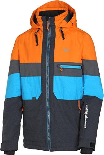 "Rehall Herren Skijacke ""Rock-R"" orange (506) L"