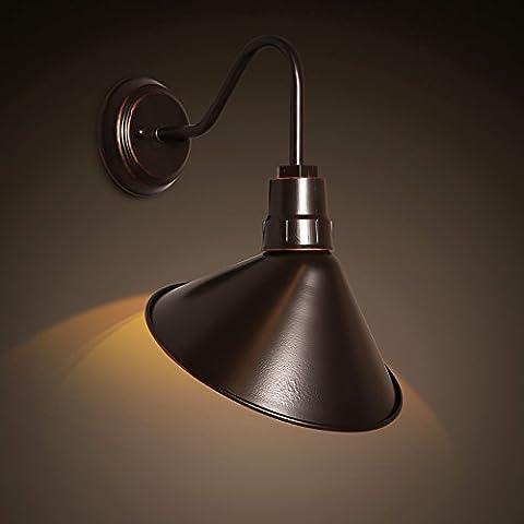 Retro Industrie Stil Eisen Wandleuchte Vintage Einfache Design Wandlampe Passend