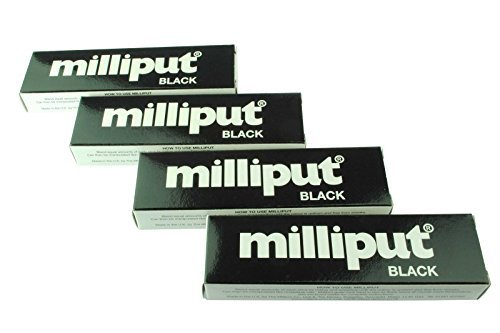 milliput-lot-de-4-x-noir-epoxy-putty-le-modelage-la-sculpture-ceramique-ardoise-repair-inclus