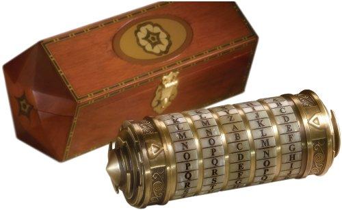 The Noble CollectionDa Vinci Code Cryptex, Maßstab 1: 1, Prop, Replik (Kostümzubehör) - Da Vinci Collection