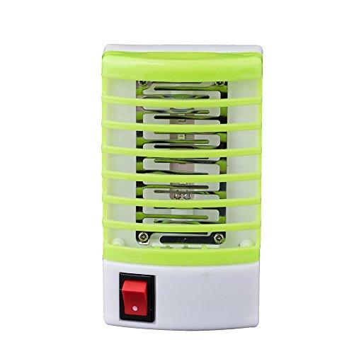 Syeytx Elektrisches Insektenschutzmittel, LED-Sockel Moskito-Fliegenwanze Insektenfalle Killer Nachtlampe Käfer Wanzen für Hauptküche(Europäische)
