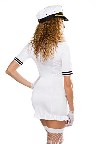 SARESIA roleplay -  Vestito  - Donna bianco / nero