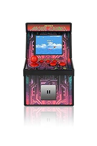 YUNTAB Mini Retro Arcade Video Machine Handheld eingebaut mehr als 200 Video-Gaming für Kinder