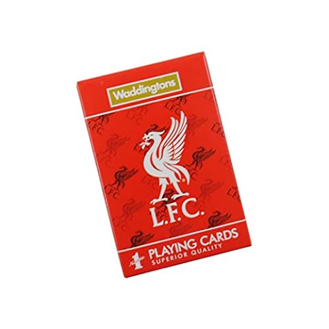 Liverpool FC Waddingtons Number 1 Playing Cards